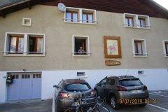 Vendredi 19 - 8h30 - Gérard quitte seul le gîte de Bourg d'Oisans pour aller monter l'Alpe d'Huez