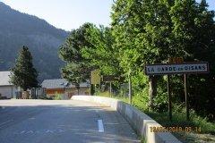9h14 - La Garde d'Oisans....souvenir de quelques galères à la Marmotte ou à l'Etape du Tour