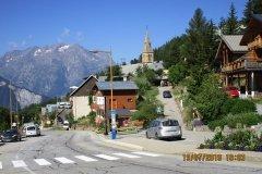 10h03 - Village d'Huez (+ 800m - virage 14) je tourne à gauche vers Villard Reculas