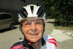 11h55 - Gérard très content de son tour en vélo...au dessus deBourg - 43km en 1h59 - moyenne 21,5km/h pour + 950m....une mise en jambes pour demain...