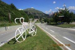 Après  midi...montée en voiture à l'Alpe d'Huez ....chercher un peu de fraîcheur....(10 degrés de moins....)