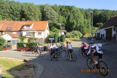 9h15 - A gauche montée vers la M.F. Hasselthal (km 22)