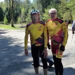 11 - Bernard et Jean Maire encore bien frais au Col du Pandour