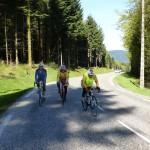 7 - Bernard, Yves et Jean Maire arrivent en haut du Col du Donon