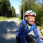 8 -Bernard tous souriant en haut du Col du Donon - Facile -